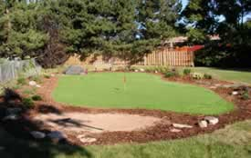 Putting Green w/Landscaping